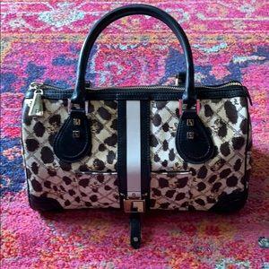 LAMB leopard hand bag